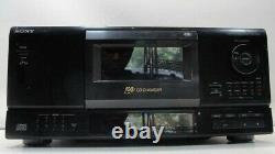 EUC Sony 100 Disc CD Carousel Changer Player Complete withRemote, Manual and Box