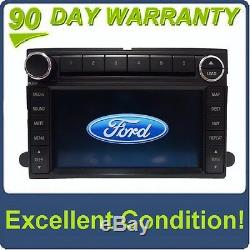 FORD Edge Navigation GPS Radio Stereo 6 Disc Changer AUX MP3 CD Player