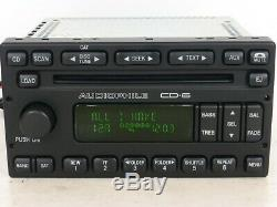 FORD Mercury OEM AUDIOPHILE SAT Radio 6 CD Disc Changer MP3 Player STEREO UNIT