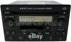HONDA Accord Civic Odyssey Radio 6 Disc Changer Tape CD Cassette Player OEM