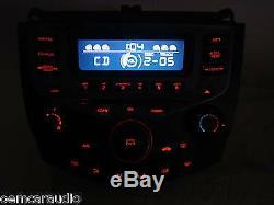 HONDA Accord Radio 6 Disc Changer CD Player Manual Temp Climate Control 7BX1
