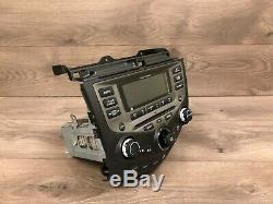 Honda Accord Oem Front CD Player Screen Monitor Radio Receiver 2003-2007