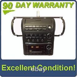 INFINITI OEM G35 Black GPS Navigation Radio Stereo 6 Disc Changer CD Player Tape
