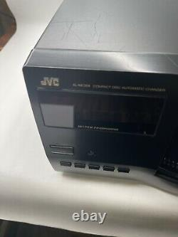 JVC 200-Disc CD Changer Player XL-MC334BK Automatic Changer with Remote & Manual
