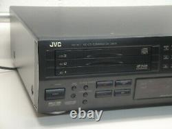 JVC Xu-301BK MiniDisc MD player / recorder with 3 disc CD player changer WORKING