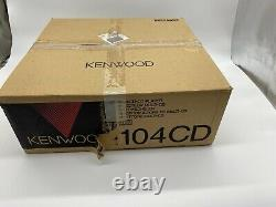 Kenwood 104CD Multi Compact 5 Disc CD Player Changer With Remote & Cables NICE