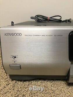 Kenwood 200-Compact Disc Multiple CD Player Changer CD-2260M