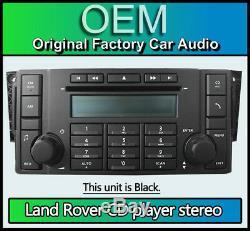 Land Rover Range Rover Sport radio CD player stereo, 7G9N18C815TA 6 disc changer