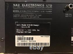 NAD 515 Multi Compact Disc Player 5 CD Changer CD Player Works Great! No Remote