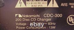 NAKAMICHI CDC-300 === 200 Disc CD MegaStorage Changer/Player