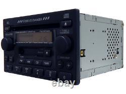 NEW HONDA CR-V CRV Radio Stereo 6 Disc Changer CD Player with Clock Factory OEM
