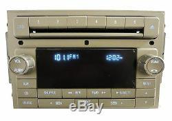 NEW LINCOLN MKZ MKX Zephyr Navigator Radio Stereo 6 Disc Changer CD Player OEM