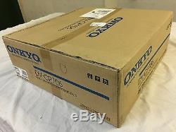 NEW Onkyo DV-CP706 Six / 6 DVD CD Disc Player Changer SILVER HDMI 1080p output