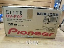 NEW Pioneer Elite DV-F07 DVD CD Changer Player 300+1 Disc Capacity Made in Japan