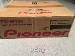 NEW Pioneer PD-M426 Compact Disc 6 Disc Cartridge CD Changer Player remote