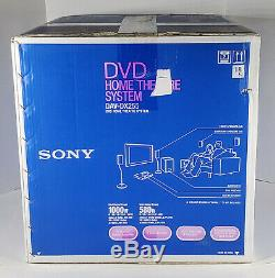 NEW Sony DAV-DX255 5.1 Ch Home Theater Surround Sound 5 Disc DVD Changer Player