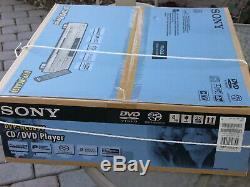 NEW Sony DVP-NC685V Progressive scan 5 Disc DVD CD Player Changer Black