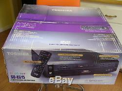 NEW TOSHIBA SD-K615 DVD CD 5 Disc Carousel MULTI Changer Player Black SD-K615K