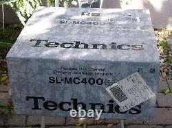 NEW Technics SL-MC400 Mega Compact Disc CD Player Changer 110 +1 Made in Japan