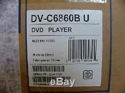 NEW Yamaha DV-C6860 Natural Sound 5 Disc CD DVD Player Changer DV-C6860BL Black
