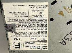 NISSAN Maxima Pathfinder BOSE Radio 6 Disc Changer Tape CD Player NI683A