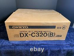 NOS Never Used Onkyo DX-C320(B) R1 6 Disc Changer Compact Disc Player withRemote