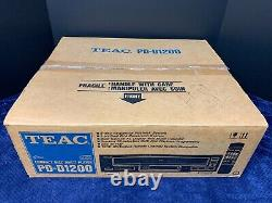 NOS Never Used Teac PD-D1200 5 Disc CD Changer Compact Disc Player withRemote