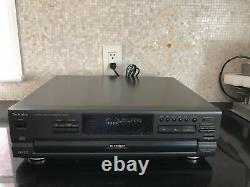 New Open Box NOS Technics SL-PD867P-K Japan 5 Disc Changer CD Player & Remote