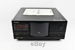 New Pioneer PD-F1009 301 Disc CD Player Changer Made in japan