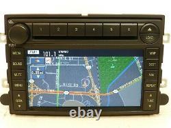 OEM FORD MERCURY GPS NAVIGATION UNIT Radio 6 CD DISC CHANGER MP3 Player RECEIVER
