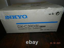 ONKYO DX-C370 6 Disk CD Player Compact Disc Changer with Remote NEW OPEN BOX
