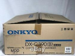 ONKYO DX-C390 6-DISC CD COMPACT DISC CHANGER PLAYER AUDIOPHILE With BOX