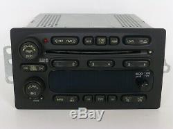 Oem Gmc Chevy Bose Sierra Tahoe Yukon Silverado 6 CD Disc Changer Stereo Radio