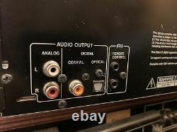 Onkyo CD Player 6 Disc Changer DX-C390 Remote Manual Clean Workng See Video Demo