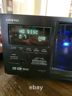 Onkyo DV-M301 301 Disc DVD or CD Changer player tested works no remote