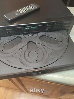 Onkyo DX-C220 6 CD HiFi Compact Disc Changer Player remote original box Japan