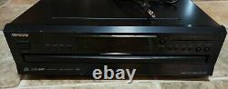 Onkyo DX-C390 6 CD Compact Disc Player Changer Carousel Tested Working
