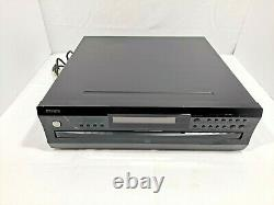 Onkyo Integra CDC-3.4 Compact 6 Disc Carousel Changer CD Player WORKS Tested