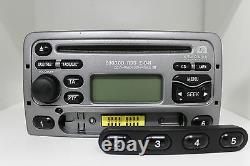 Original Ford 6000CD RDS E-O-N 2-DIN Autoradio 6000NE Tuner Radio Silber-Grau