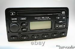 Original Ford 6000CD RDS E-O-N Autoradio 6000NE 6000 CD Radio Schwarz CD-R Tuner
