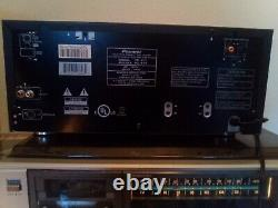 PIONEER ELITE PD-F17 101 Disc CD Player / Changer TESTED CDFile Reference 100