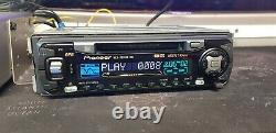 PIONEER MEH-P5100R & CDX-P630s MINI DISC PLAYER & 6 CD CHANGER PACKAGE, MD+CABLES