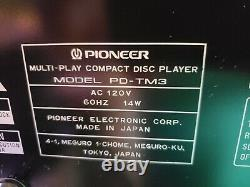 PIONEER PD-TM3 18 Disc CD Player Changer in box w remote