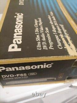 Panasonic DVD-F65 Multi-Disc DVD Player 5 Disc CD Changer