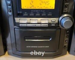 Panasonic SA-PM12 5 Disc CD Changer Player Compact HiFi AM FM Cassette Stereo