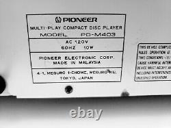 Pioneer 6- Disc CD Cartridge Compact Disc Multi Player Changer with 3 Cartridges