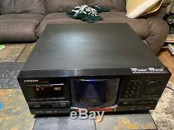 Pioneer DV-F727 File-Type DVD CD Player 301 Disc Changer no remote