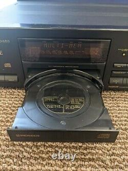 Pioneer Elite CD Player 6 Multi-Play Compact Disc PDM-53 Changer Cartridge Works