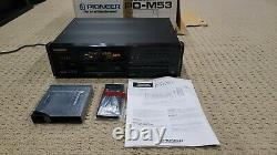 Pioneer Elite PD-M53 6 Disc CD Changer CD Player Bundle Remote Cartridges