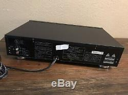 Pioneer Elite PD-M59 6 Compact Disc Audio CD Player Changer + Cartridge Works